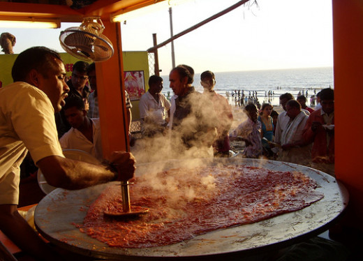 Pav Bhaji ( Street food)