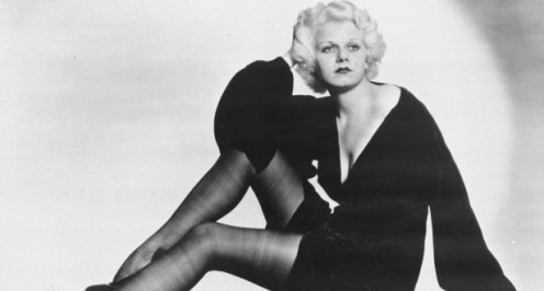The Original 'Blonde Bombshell' - Jean Harlow