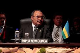 PNG Prime Minister Hon. Peter O'Neill
