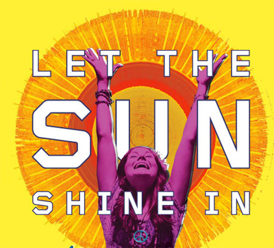 "My favorite phrase: ""Let the sun shine in"""
