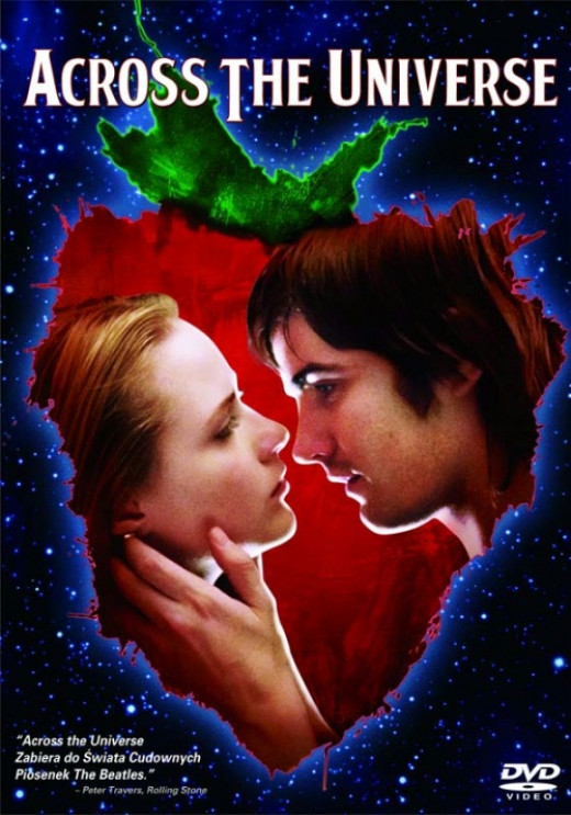 Across the Universe is one of those original musicals that was only ever done into a movie, and not a play.