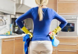 Basic House Cleaning Better Than The Gym?