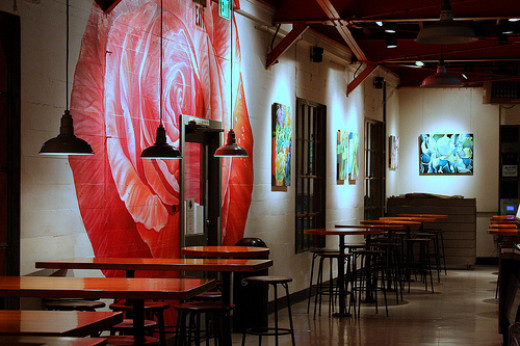 The Rose Cafe and Art
