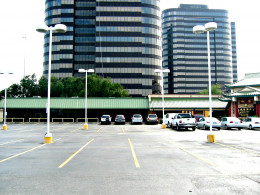 Base of the buildings