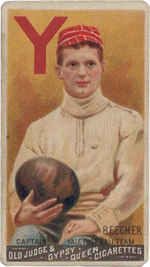 The Original Football Card, produced in the 1880s.