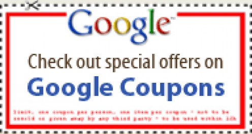 Coupons from Google
