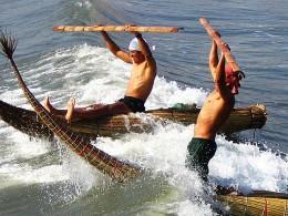 Early Peruvians seafarers