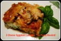 Meatless 3 Cheese Eggplant Lasagna Recipe ~ No Pasta Needed