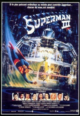 Superman III (1983) French poster