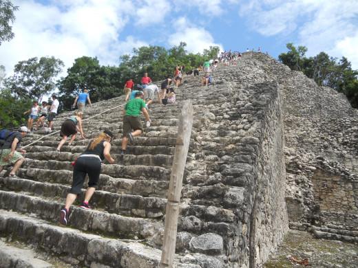 Coba Pyramid - Mexico