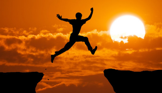 success takes a leap of faith