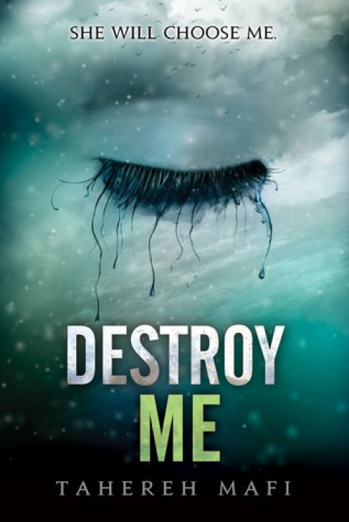 Destroy Me by Tahereh Mafi Book Cover