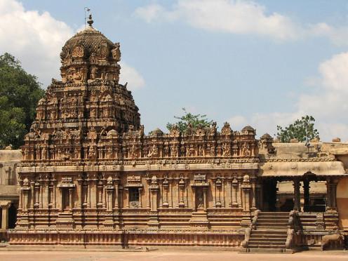Shrine of Sri Subramanya in Brihadeeswarar Temple complex, Thanjavur, India