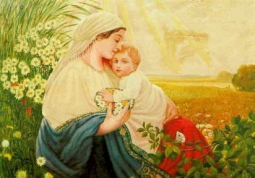 Mother Mary - Oil - 1913