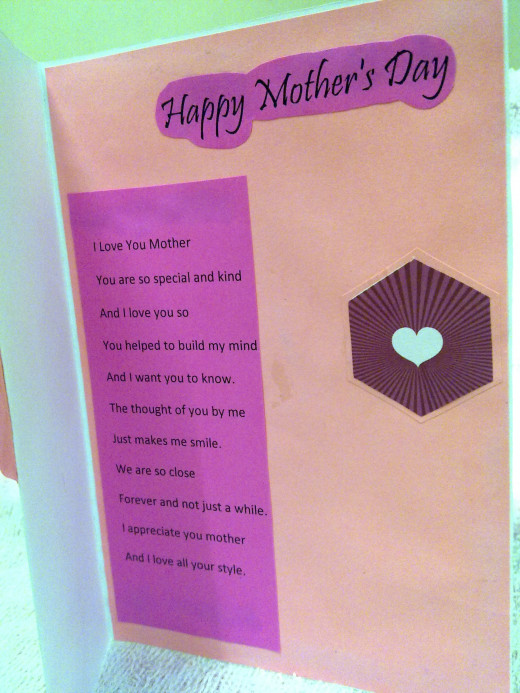 Choose a Mother's Day quote that suits your mom