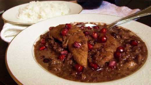 One of many variations of this popular iranian food