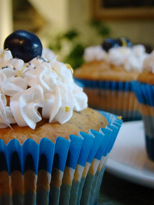 Rumchata added to cupcakes and frosting. Yum!