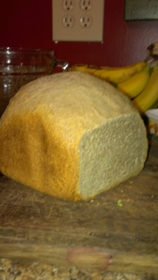 Honey Whole Wheat Bread, 2 lb
