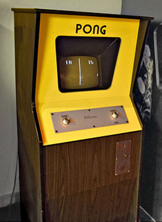 """Pong"" was the first commercially successful videogame."