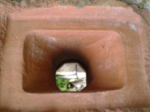 Bottom of Clay Chimney
