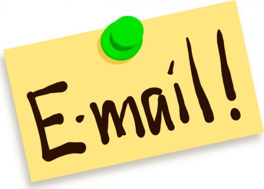 Emails are convenient.