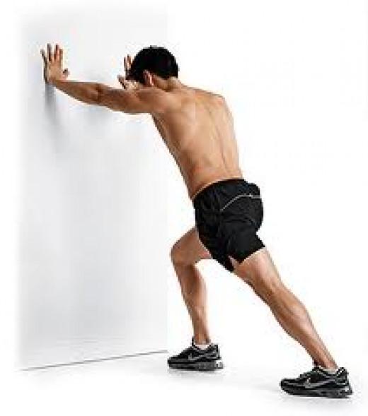 calf stretch for osteoarthritis