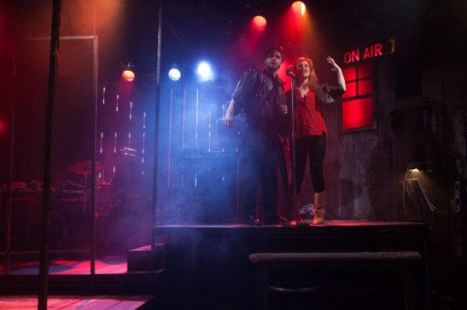Rocking the roof off the Finborough Theatre - Alexis Gerred and Cassidy Janson star in 'Rooms - A Rock Romance' over at the Finborough Theatre until 18th May 2013.  Don't miss this fabulous show.