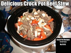 Delicious Crock Pot Beef Stew