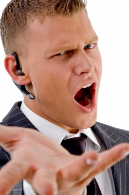 Frequent yelling is a dead give-away:  you're an office jerk.