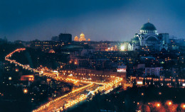 One point of view at night, in Belgrade.