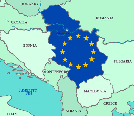 Many predict that Serbia will enter into EU together with Montenegro, in the 2015-2017.