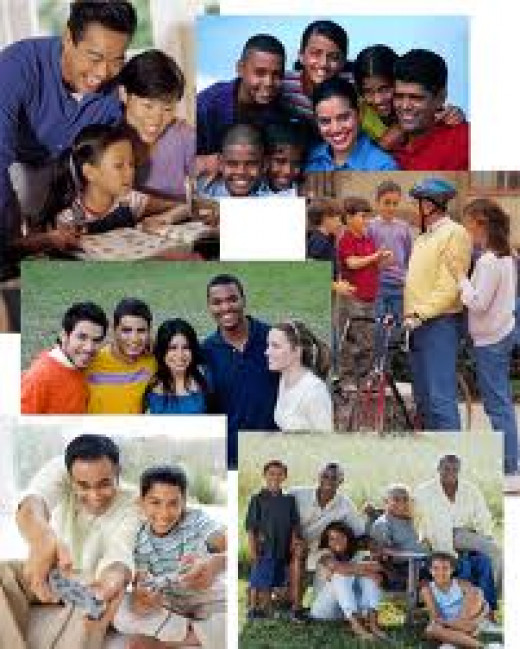 While there are some families that encourage& applaud differences&individuality among its members, many families emphasize strict conformity as it is more befitting in relation to their particular family construct.