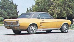 Not my Mustang, but similar. A great cruising car