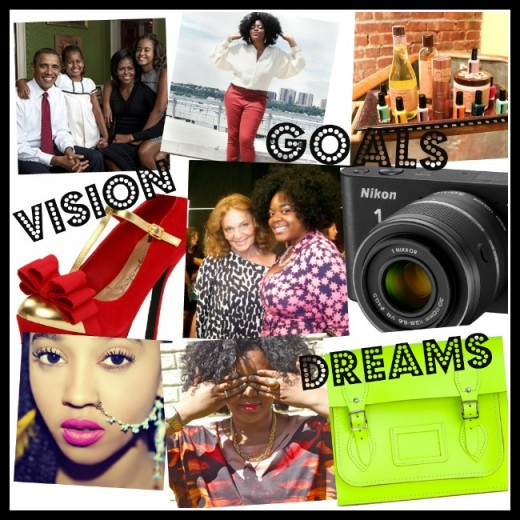 how to create a vision board youtube