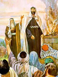 Presentation of King Saul