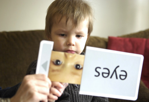 Learn To Read With Flash Cards!