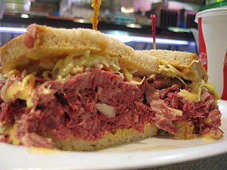 Sauerkraut on a sandwich? Well, it actually works with the help of corned beef and Thousand Island or Russian dressing.