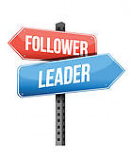 Are we followers, or leaders?