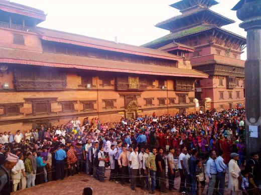 Patan Durbar in Kathmandu by Samsung