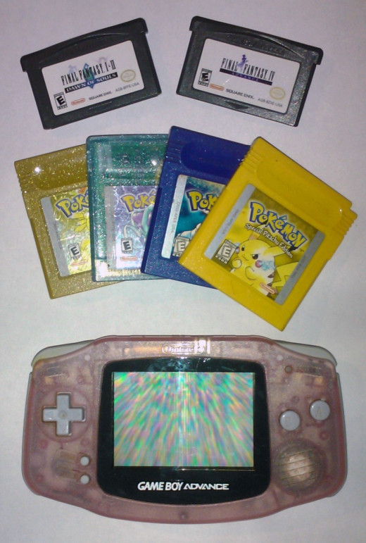 The Game Boy Advance plays both Game Boy Advance and Game Boy Color cartridges.