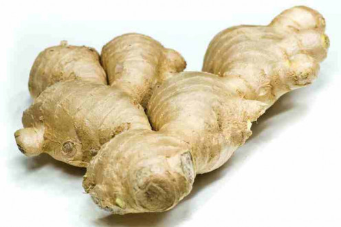 An infusion of fresh or dry ginger is said to stave off colds and nausea.