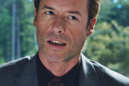 Guy Pierce as A.I.M. founder Aldrich Killian