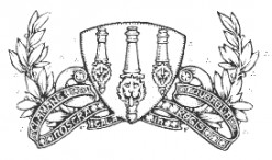 The first Arsenal team crest (1888).