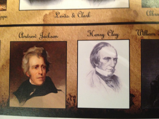 ANDREW JACKSON and HENRY CLAY