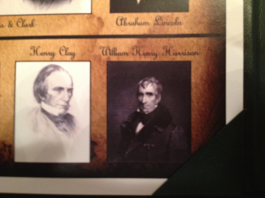 HENRY CLAY and WILLIAM HENRY HARRISON