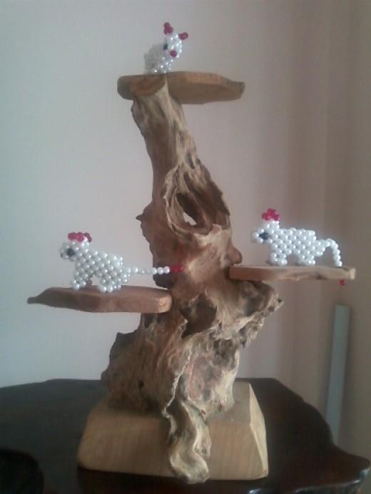 Drift & earthen wood stands