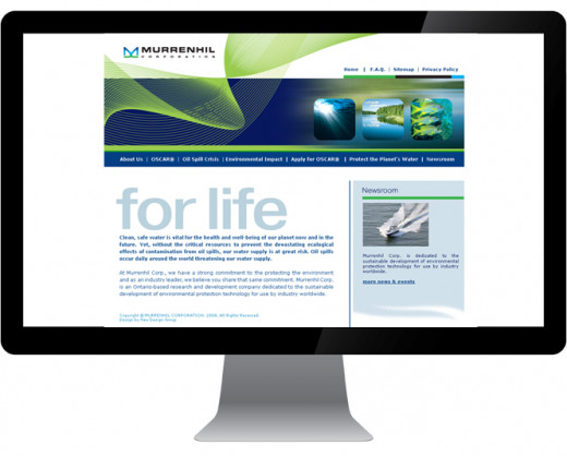 Murrenhil Corporation Website