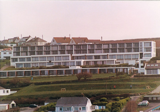 Luxury Spas in Cornwall with Sea Views: Bedruthan Steps, Mawgan Porth, Cornwall in 1980