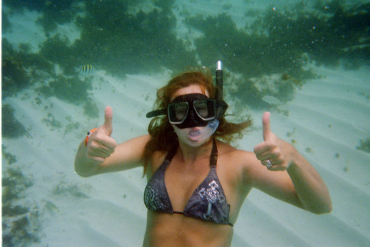 Honeymoon in Aruba - Snorkeling