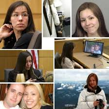 In this photo collage you have many pictures of Jodi Arias and Travis Alexander.